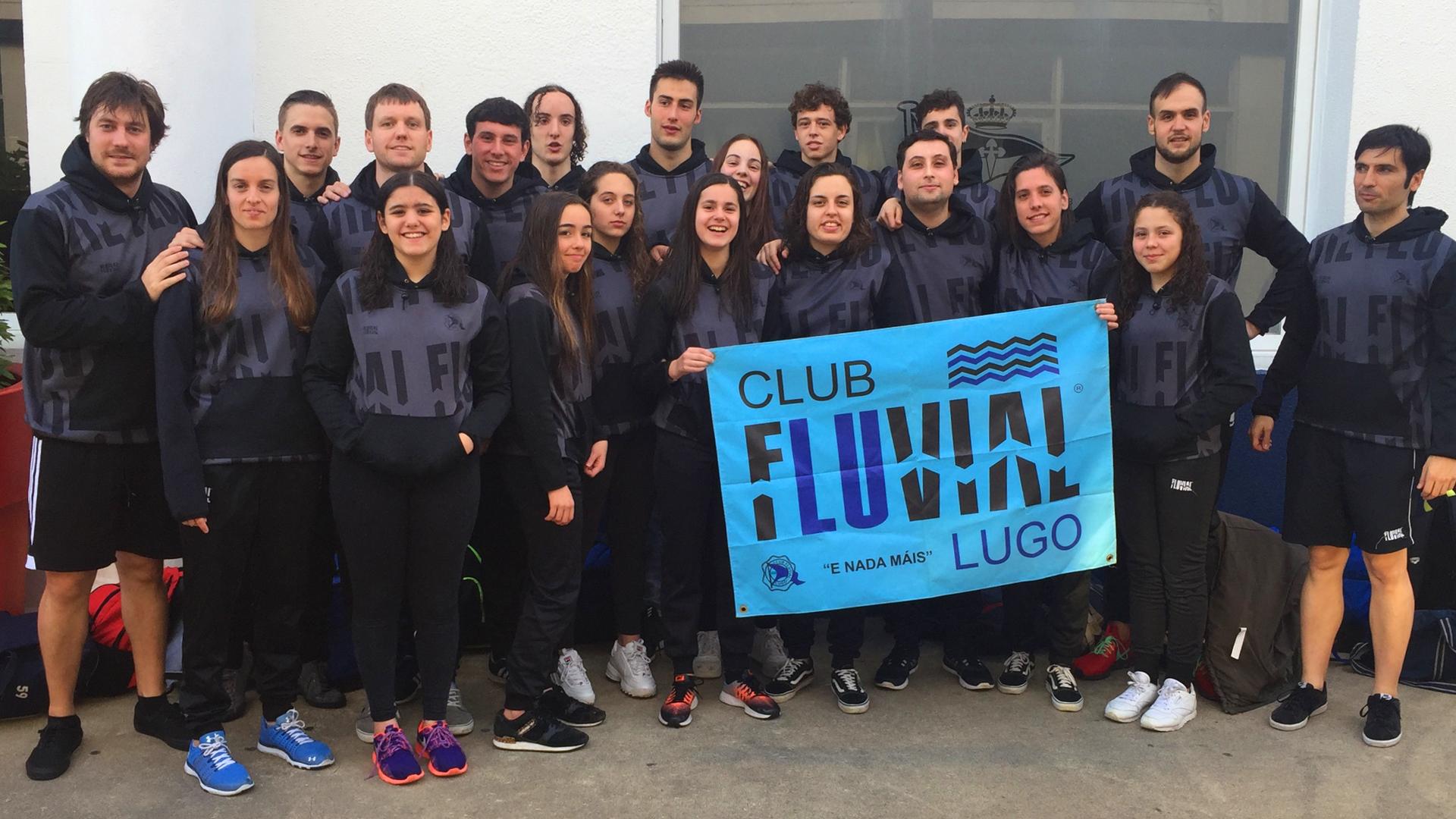 El Fluvial, Tercero en la Liga Gallega de Clubes de Primera División