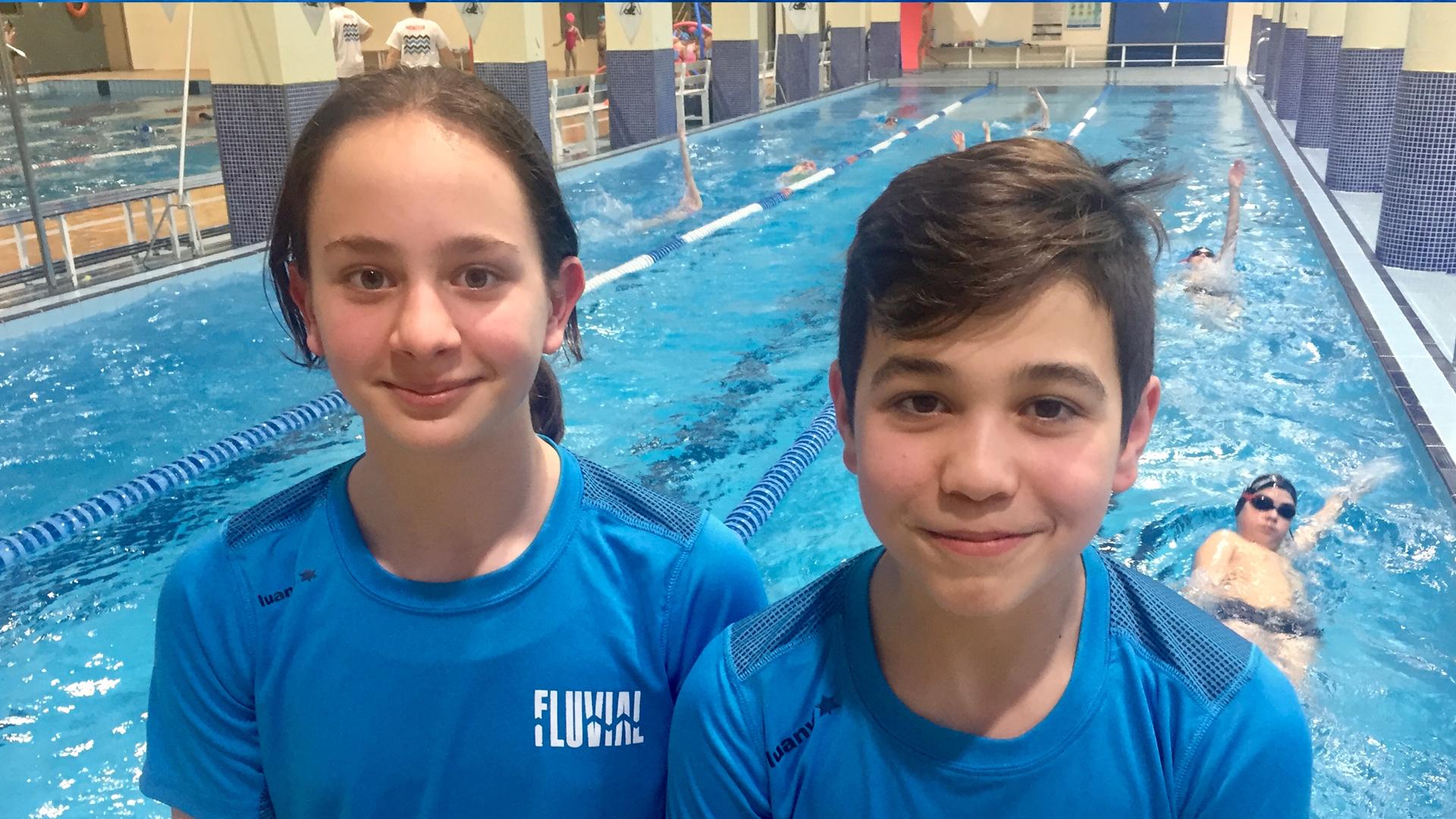 Lucía Diéguez y Ánder Gómez representarán al Fluvial en el campeonato de España