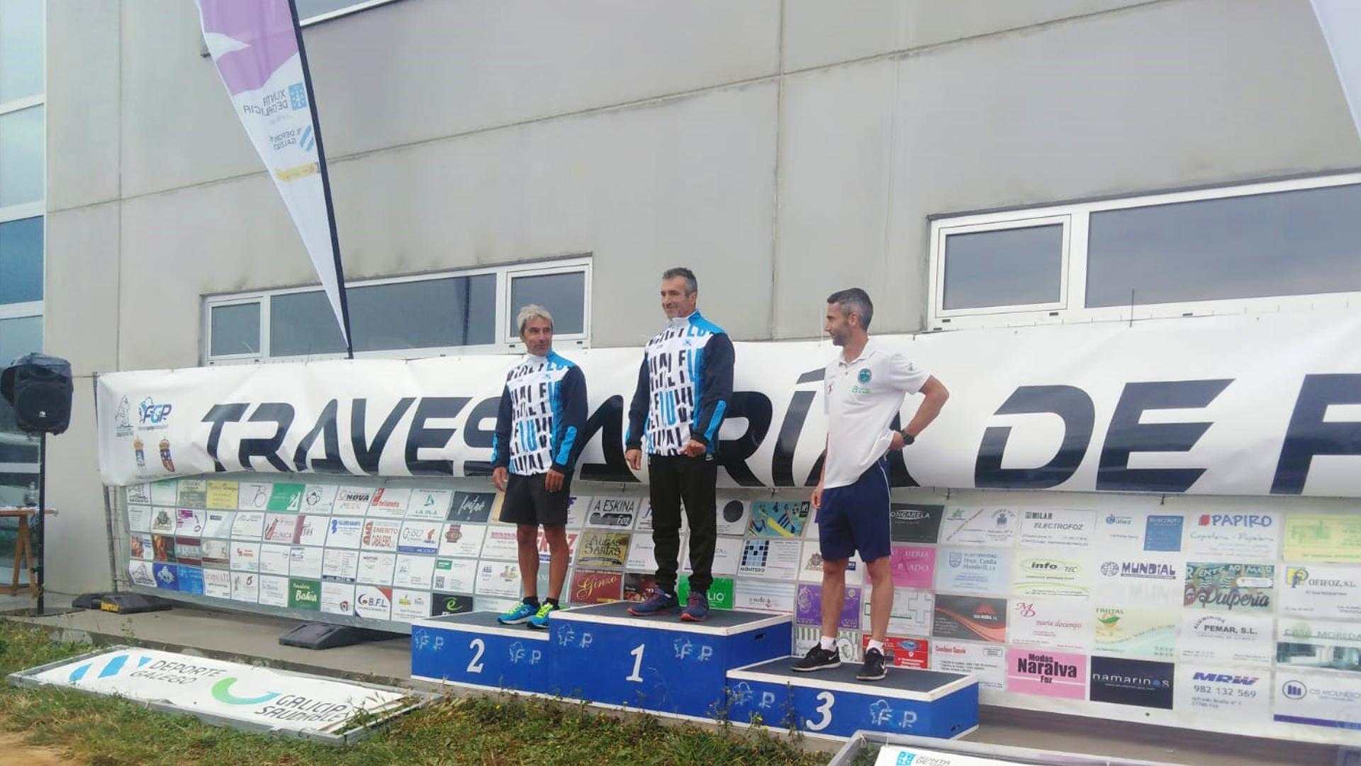 El Fluvial logra seis podios en la Travesía de Foz