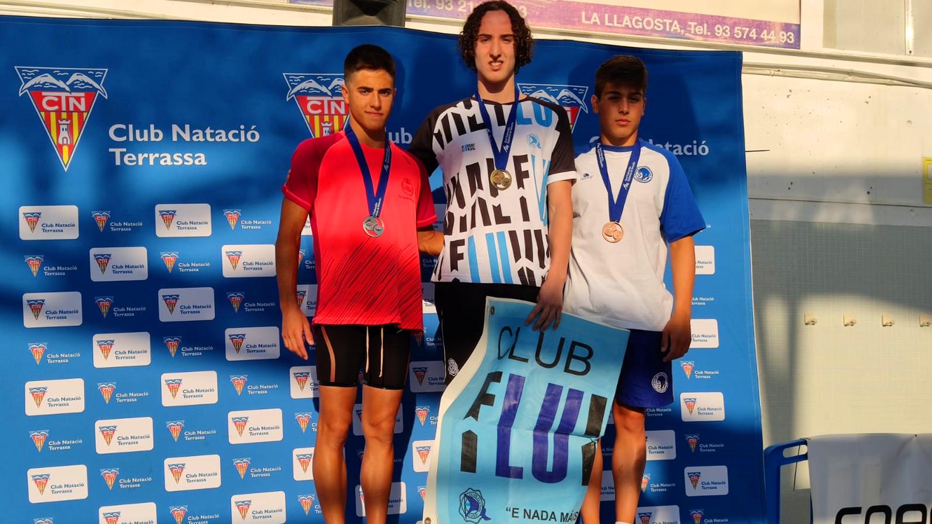 Martín Pardo, campeón de España Junior en 800 metros libres