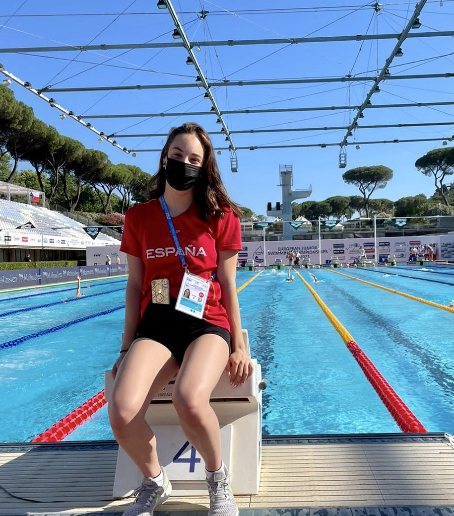 Ana Cernadas, excelente actuación en el Europeo Junior de Roma.